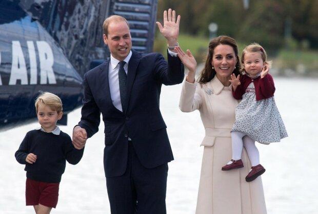 кейт и уильям с детьми