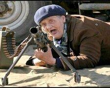 Злая бабка пенсионерка