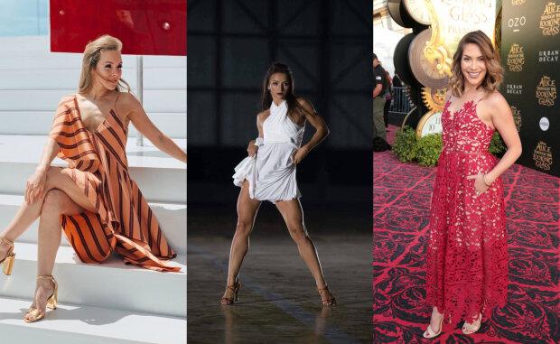"""Альона Шоптенко, Гвоздьова та інші вагітні красуні з """"Танців з зірками"""": животики шоу не перешкода"""