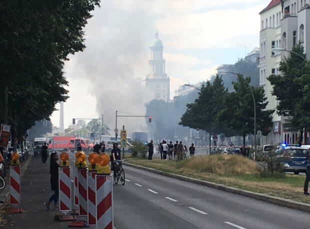 У центрі Берліна стався потужний вибух