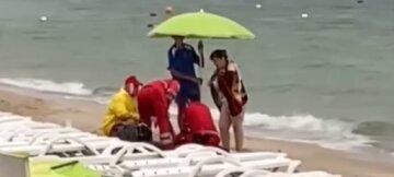 """Море поглотило военного на одесском пляже: """"Пришел отдыхать с семьей"""""""