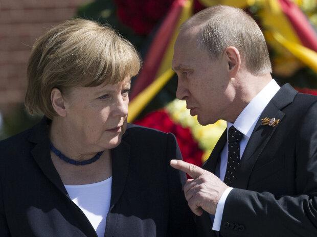Меркель-путин