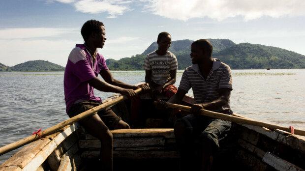 лодка африка рыбаки
