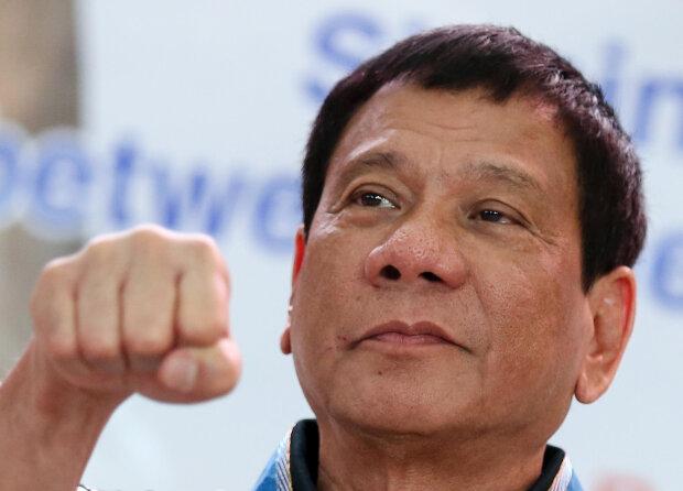 Родриго Дутерте, президент Филиппин