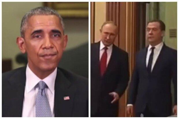 """Обама висловив все, що думає про Медведєва і Путіна: """"Один - стиляга, а другий - вуличний бос"""""""