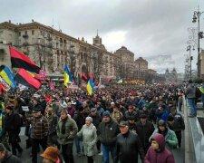 Рух-нових сил-митинг за Саакашвили