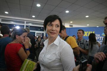 Го…енная демократия: скандальная регионалка грязно выругала украинцев на российском ТВ