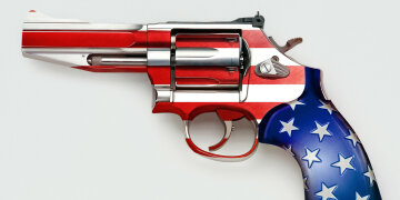 пистолет оружие стрельба в сша