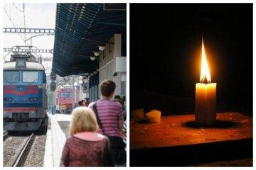 """Трагедия на ж/д привела к сбою поездов, фото: """"Машинист пытался затормозить, но..."""""""