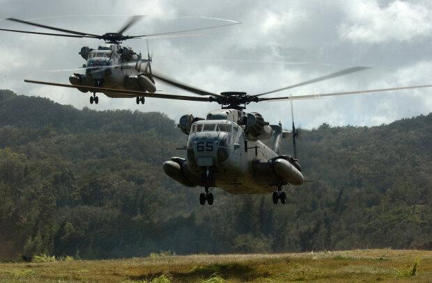 вертолет США CH-53D