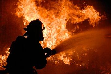 пожар, огонь, пожарные