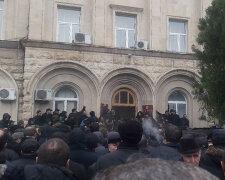 протесты, абхазия, госпереворот