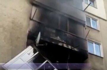 Решітка на дала вибратися з палаючої квартири: харків'янин опинився в заручниках вогню