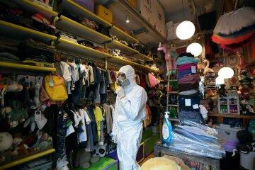 одежда, магазин, карантин