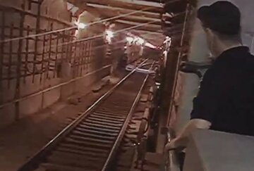 """Хижак опинився в харківському метро, відео: """"Забороняють знімати"""""""