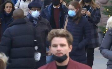 карантин люди маски