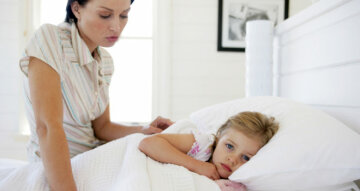 дети ребенок постель