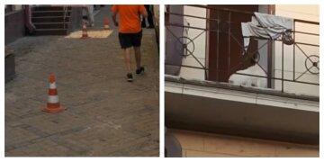"""В Харькове выбросили из балкона щенков, слетелась полиция: """"минимум пять шпицев..."""""""