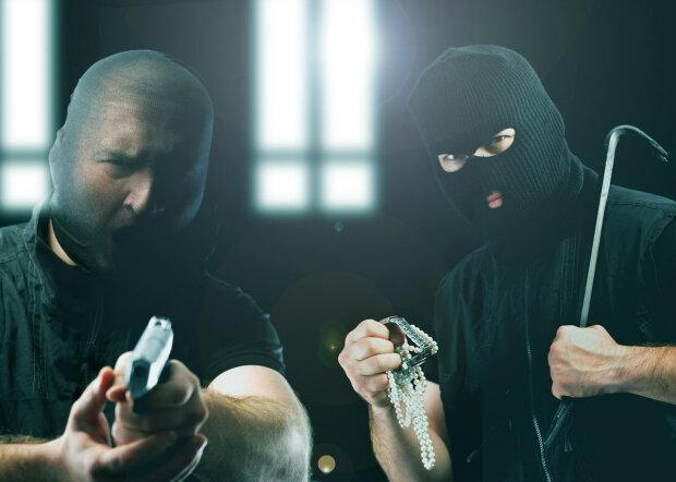 грабители-ограбление
