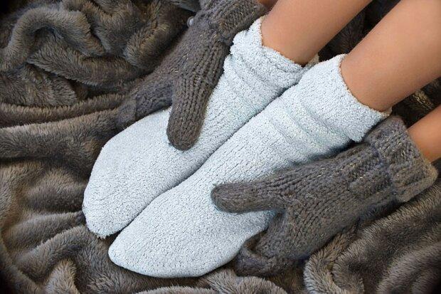 Холодні ноги можуть бути ознакою анемії