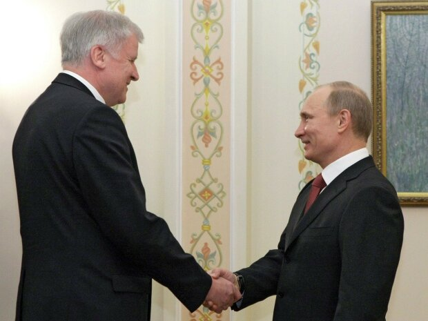 Путин Зеехофер