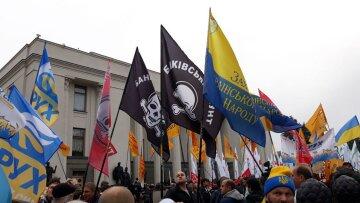 Ви не там протестуєте: нардеп дав пораду мітингувальникам під Радою