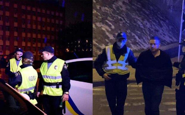 """З'явилося відео бійки заступника Кличка з поліцейськими: """"загрожує п'ять років"""""""
