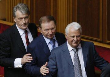Виктор Ющенко, Леонид Кучма, Леонид Кравчук