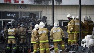 Кемерово, спасатели, пожар в Кемерово