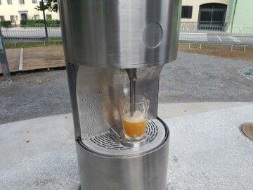 Перший в Європі пивний фонтан з'явився у Словенії (фото)