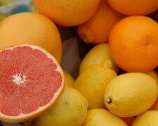 Лимон, Апельсин, Грейпфрукт, цитрус
