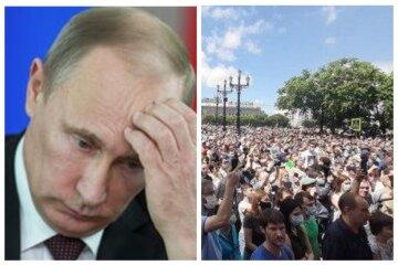 """""""Путін - злодій"""": тисячі росіян повстали проти президента і перекрили вулиці, кадри бунту"""
