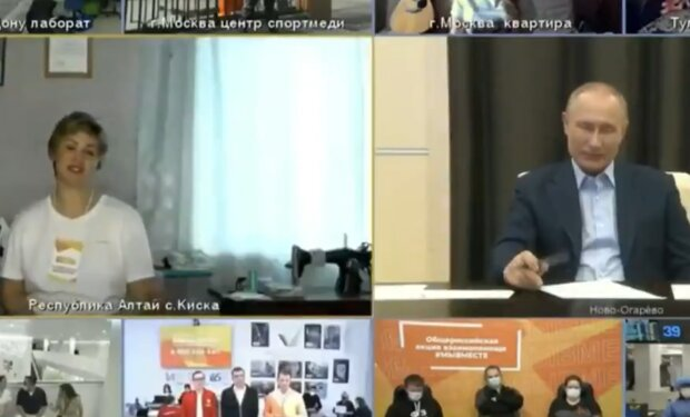 Путін зганьбився під час розмови із жінкою, відео злили в мережу: «Оцінив кицьку»