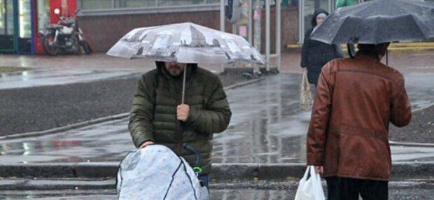 холод дощ погода весна осінь