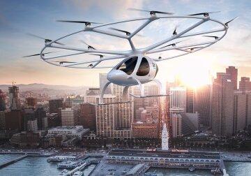 Летающее такси беспилотное такси, мультикоптер