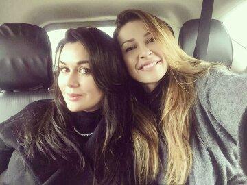 Анастасія Заворотнюк з донькою Ганною