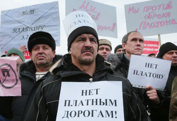 Дальнобойщики россия протесты платон