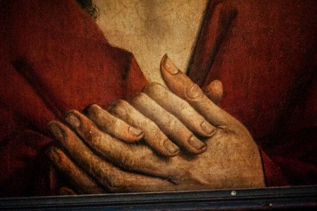 иисус христос руки