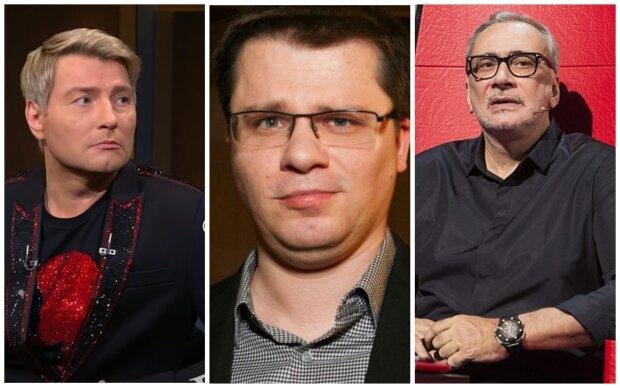 Басков, Харламов, Меладзе