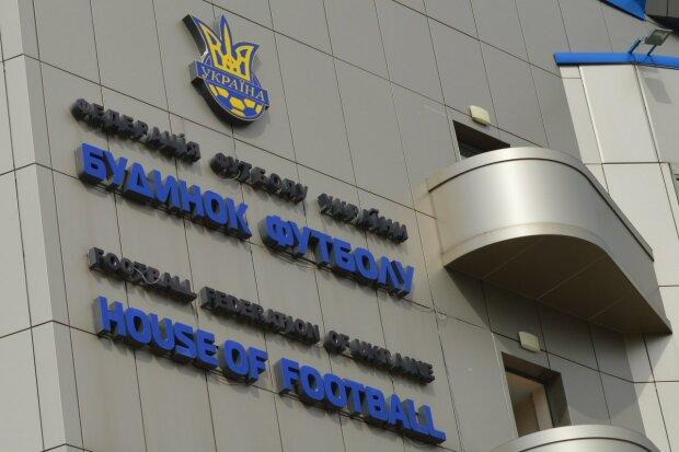 Федерации футбола Украины