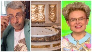 «Комаровському сумно»: в мережу потрапили фото золотого палацу теледоктора Малишевої