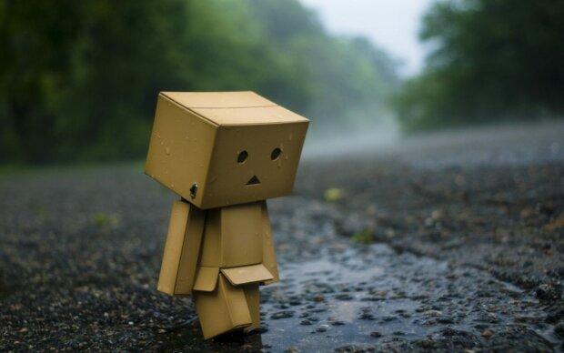 грустный человечек,
