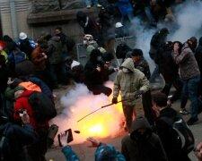 протест бунт потасовка