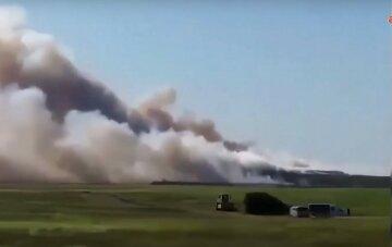 """Біда обрушилися на Крим, кадри з місця НП: """"нависла димова завіса"""""""