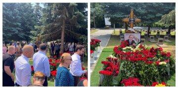 """Харків'яни в день народження Кернеса вшанували його пам'ять, фото: """"Царство Небесне"""""""
