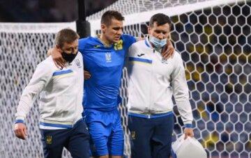 Страшна травма Бєсєдіна затьмарила перемогу збірної України, відео: футболіст прощається з Євро-2020