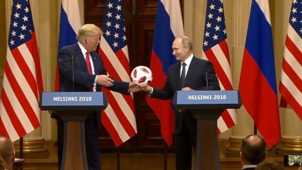 """Дозволяє отримати доступ: в м'ячі, який подарував Путін Трампу, знайшли """"сюрприз"""""""