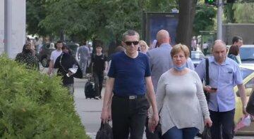 украинцы, лето, пенсии, зарплаты, жара, погода, скрин