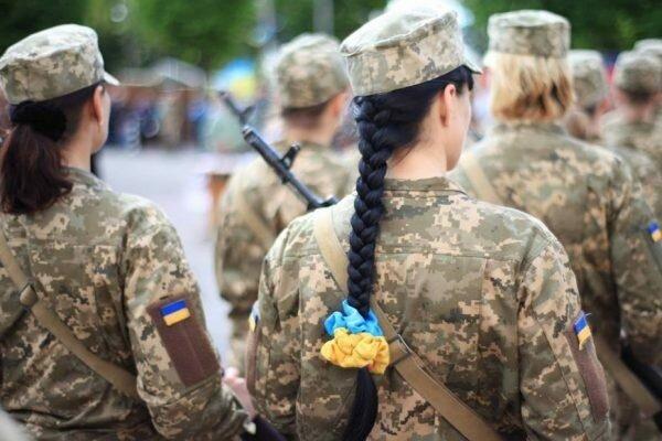 армия женщина военный всу