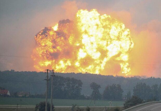 Калиновка, взрыв